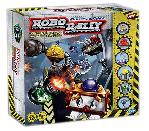 Avalon Hill Brettspiel Robo Rally deutsch