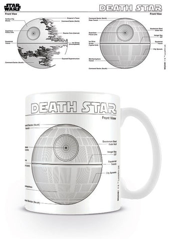 Star Wars Tasse Death Star Sketch
