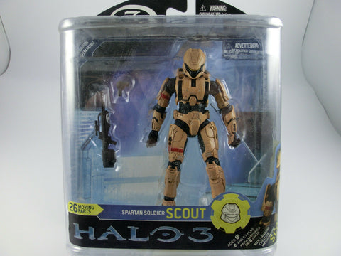 Halo 3  Spartan Soldier Scout Action Figur