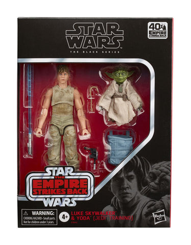 Star Wars Episode V Black Series Actionfiguren 2020 Luke Skywalker and Yoda (Jedi Training)