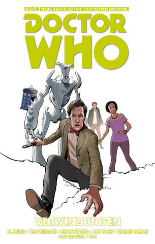 Doctor Who Comic: Verwindungen