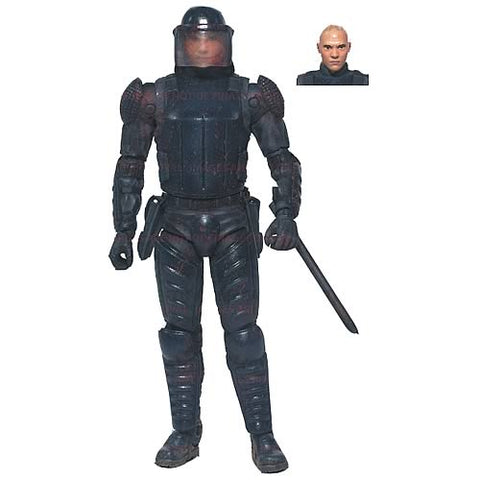 Riot Gear Glenn Action Figur Walking Dead Comic Serie 2