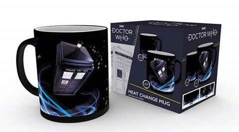 Doctor Who Tardis Becher mit Thermoeffekt