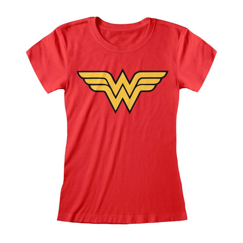 DC Comics Ladies T-Shirt Wonder Woman Logo