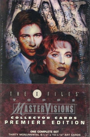 X-Files Master Visions - Trading Card Set