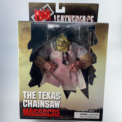 Leatherface Texas Chainsaw Massacre Action Figur Mezco