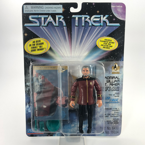 Admiral Riker Star Trek Actionfigur