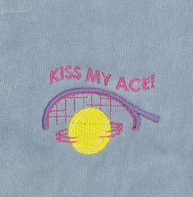 Load image into Gallery viewer, Kiss My Ace Tennis Towel