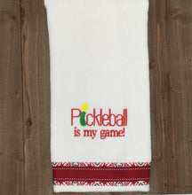 Load image into Gallery viewer, Pickleball is my Game Towel