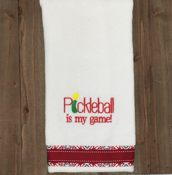 Pickleball is my Game Towel