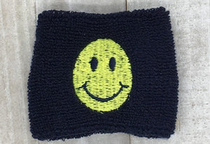 Remember to Smile Wrist Sweatband