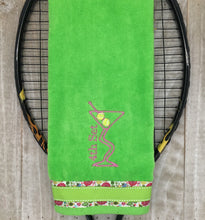 Load image into Gallery viewer, NEW** 4th Set Martini Tennis Towel