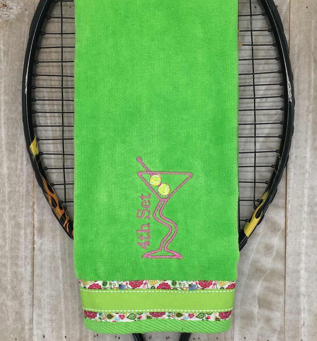 NEW** 4th Set Martini Tennis Towel