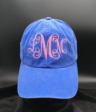 Load image into Gallery viewer, Monogrammed Hat
