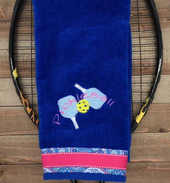 NEW** Two Paddles Pickleball Towel