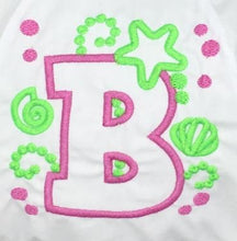 Load image into Gallery viewer, Monogrammed Bow Baby Bloomer