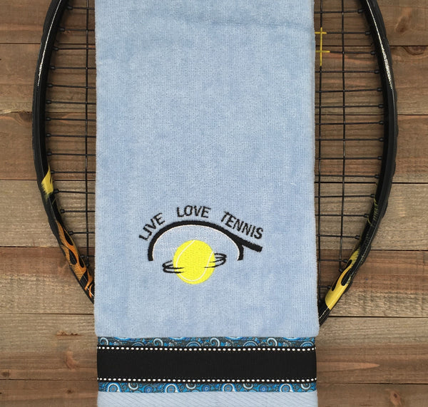 NEW Design** Live Love..Tennis Tennis Towel