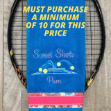 NEW*** Custom Tennis TEAM Towel Court Action (minimum of 10)