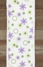 Load image into Gallery viewer, Burp Cloths Three Lavender Coordinating with Flannel