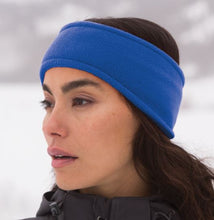 Load image into Gallery viewer, Fleece Embroidered Sports Headband