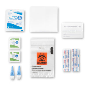208 Food Sensitivity + Candida Test Kit