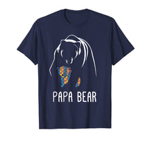 Load image into Gallery viewer, Autism Papa Bear - Autism Awareness Shirt