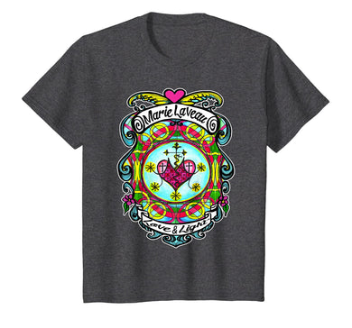 Marie Laveau Love and Light Voodoo Lwa Veve T-shirt