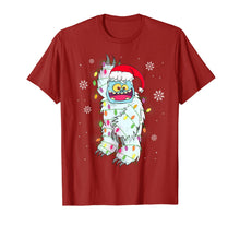 Load image into Gallery viewer, Yeti To Party Yeti Tree Abominable Snowman Christmas Pajama T-Shirt