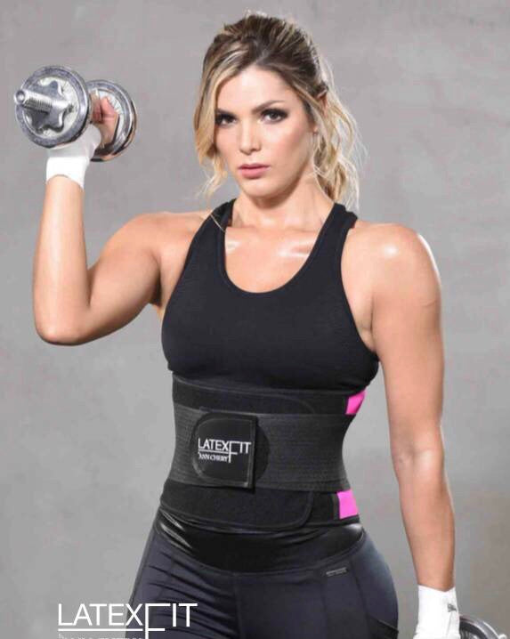 Latex Fit Waist Trimmer Belt