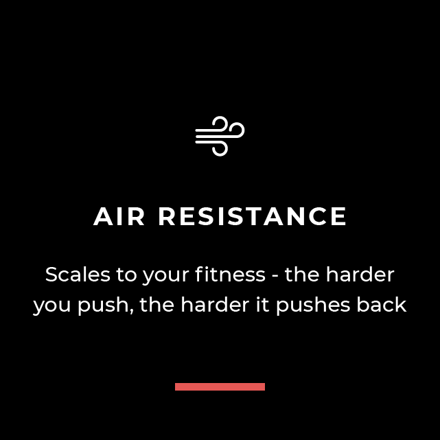 Air Resistance - Scales to your fitness