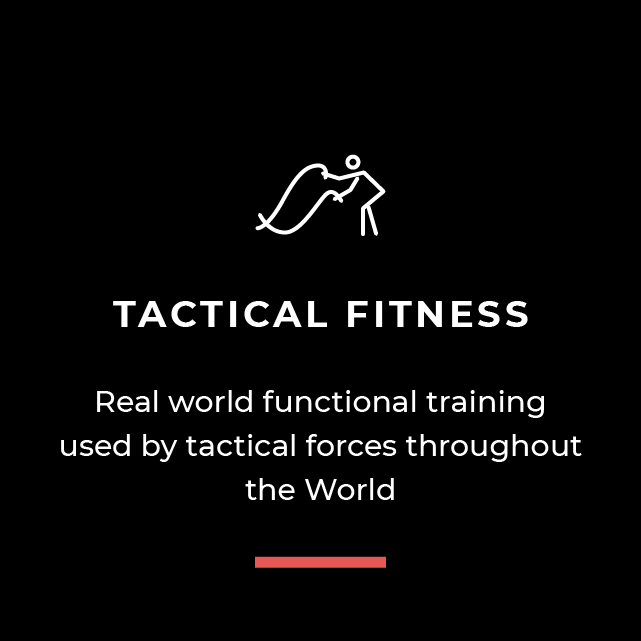 Tactical Fitness - real world functional training used by tactical forces throughout the world
