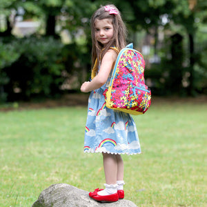 Kid's Backpack Age 3+ Floral Brights