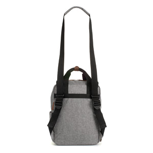 Georgi eco Convertible Backpack Grey