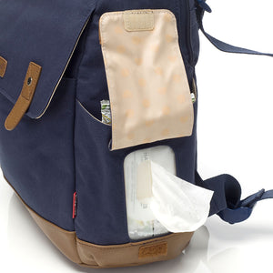 Robyn Convertible Backpack Navy