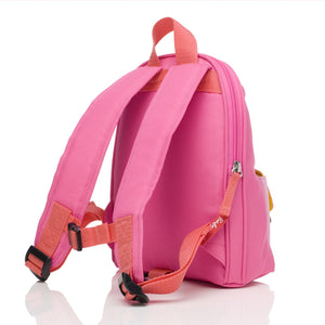 Mini Backpack Hot Pink Colourblock