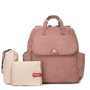 Robyn Convertible Backpack Vegan Leather Dusty Pink