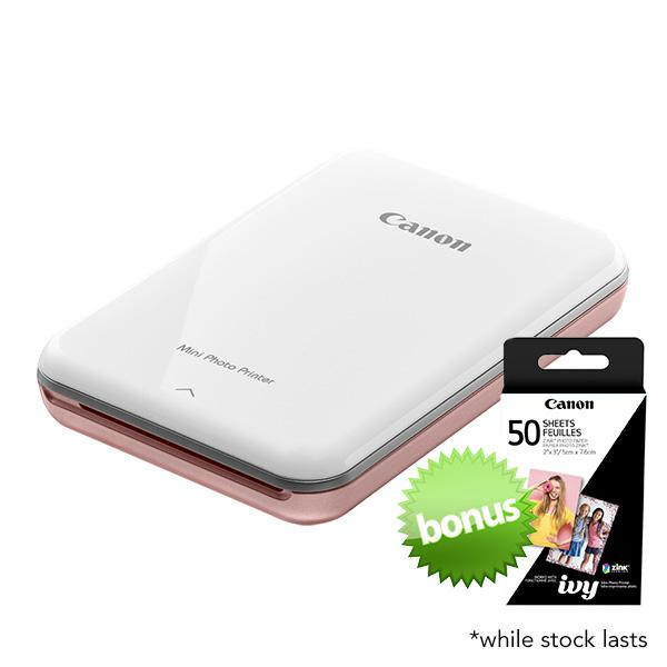 Canon Mini Photo Printer & Paper combo
