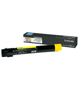 Lexmark X950X2YG toner cartridge Original Yellow 1 pc(s)