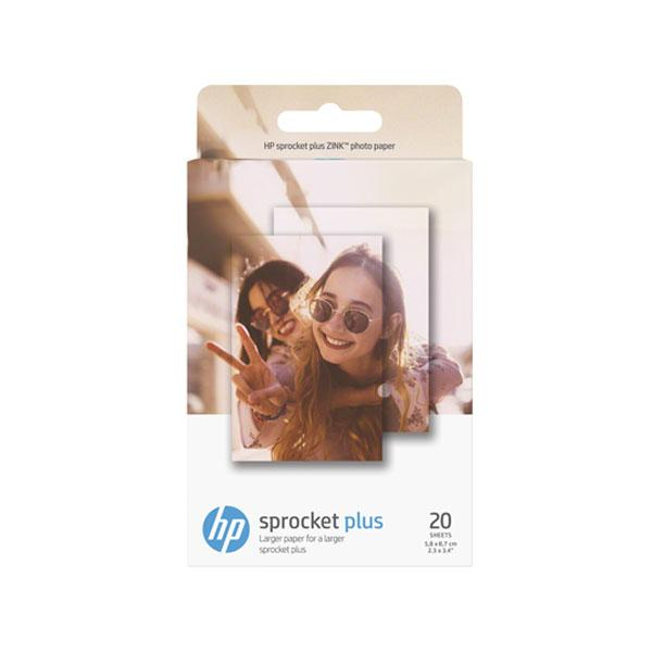 HP 20 Sheet Sprocket Plus 2.3 x 3.4 Zink Paper