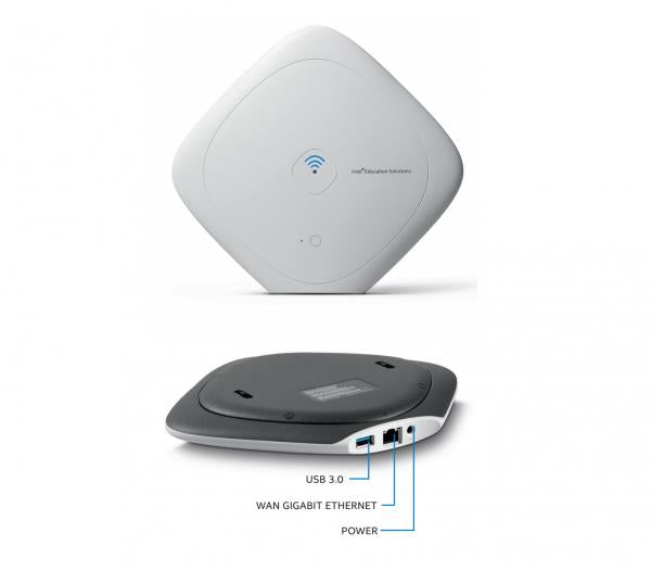 INTEL Class Connect Access Point featuring 500GB Hard Drive and 5 Hours Battery. Content Hosting. Intel pa