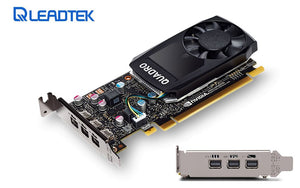 LEADTEK nVidia Quadro P400 PCIe Professional Graphic Card 2GB DDR5 3xmDP1.4 3x4096x2160@60Hz 64-Bit 32GB/s 2