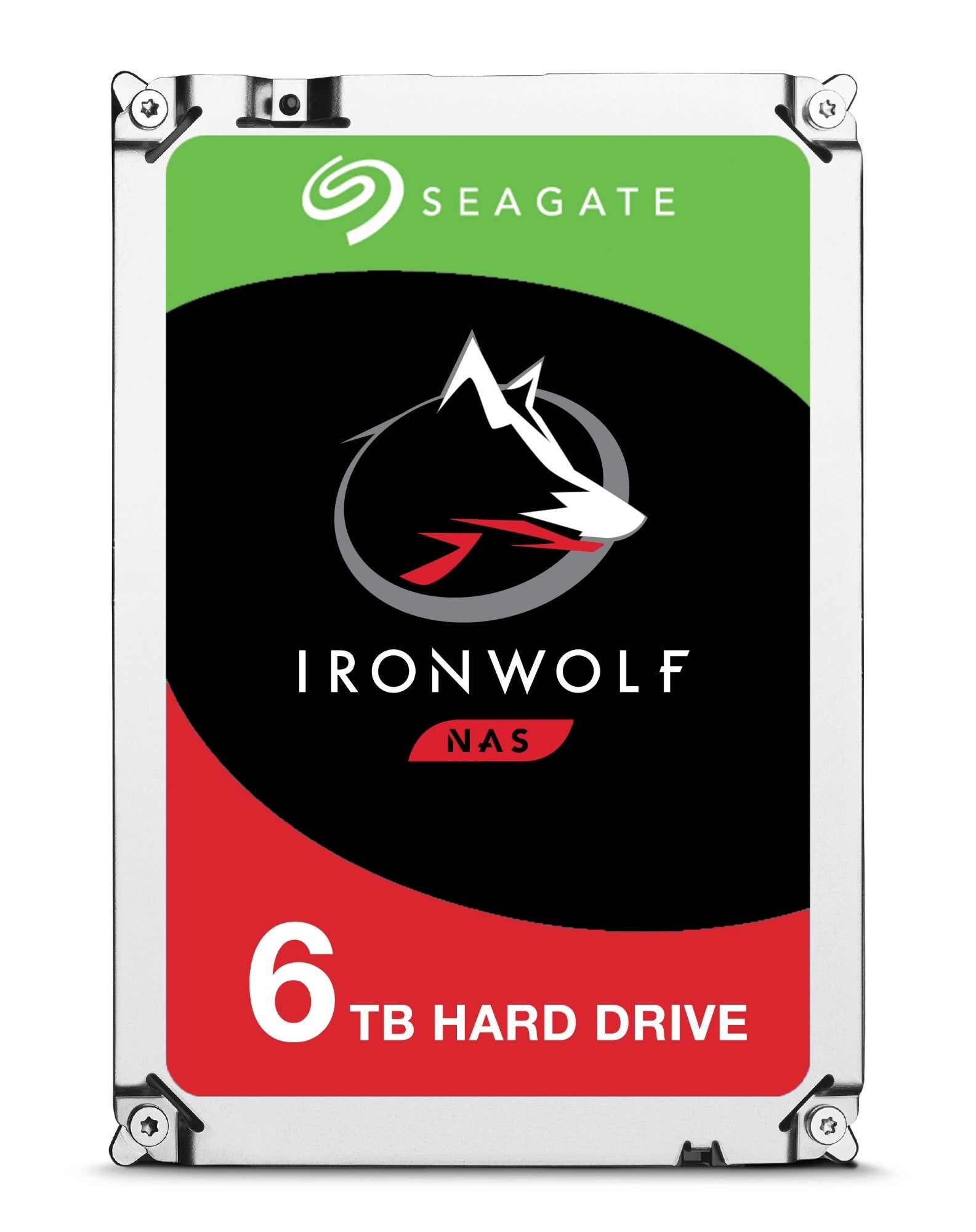 Seagate IronWolf ST6000VN0033 internal hard drive 3.5 6000 GB Serial ATA III