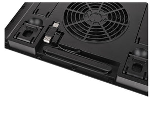 Thermaltake Massive A23 notebook cooling pad 40.6 cm (16) Black