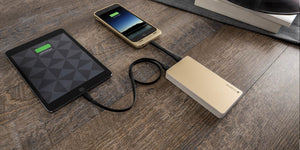 mophie Powerstation power bank Pink gold 6000 mAh