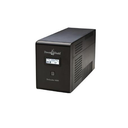 Power Shield Defender 1600VA / 960W Line Interactive UPS with AVR, Australian Outlets and user replaceable batter