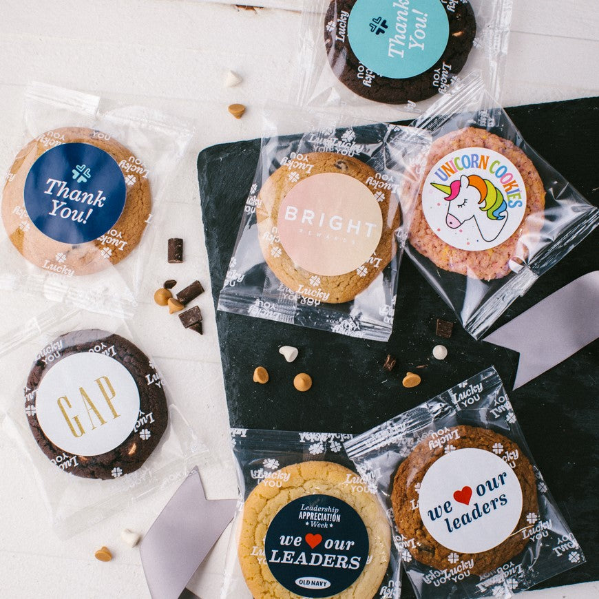 Private Label Cookies for Logo Gifts for Meetings Gifts and Thank You Gifts