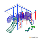CRS5-0023 | Commercial Playground Equipment