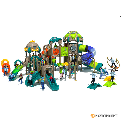 PD-C068 | Race Car Themed Playground