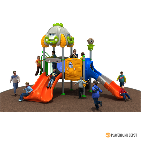 PD-C070 | Race Car Themed Playground