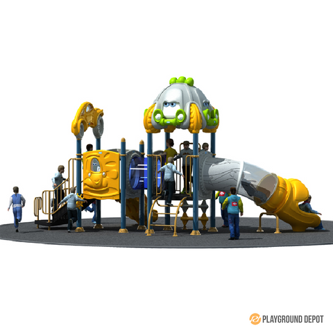 PD-C071 | Race Car Themed Playground